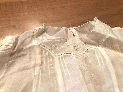 Two Antique Christening Outfits