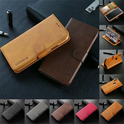 For iPhone 11 Pro XR XS Max 6S 7 8 Plus Case Magnetic Flip Wallet Leather Cover