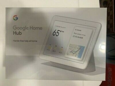 Google Home Hub with Built-In Google Assistant, Chalk (GA00516-US)