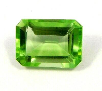 Treated Faceted Emerald Gemstone  15CT 17x12mm NG16183