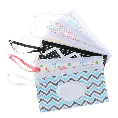 Clutch and Clean Wipe Carrying Case Eco-friendly Wet Wipes Cosmetic Pouch Bag