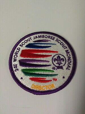 2019 24th WORLD SCOUT JAMBOREE Director patch - very rare