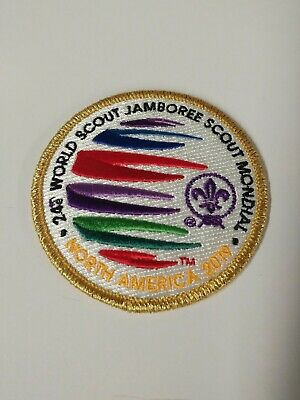 2019 24th WORLD SCOUT JAMBOREE planning team gold border