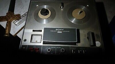 Sony rel to reel tape deck