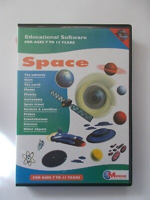 + Space  [Pc Cd-Rom] Educational Software - Ages 7-11  [Aussie Seller]