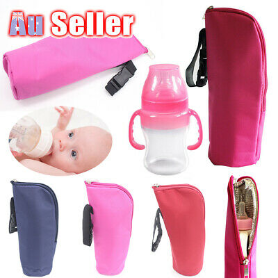 Cup Hang Tote Baby Thermal Warmer Milk Bottle Cover Mummy Pouch Insulation Bag
