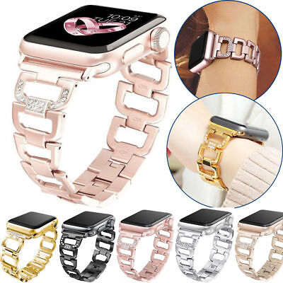 Fashion Metal Bracelet iWatch Band Women Apple Watch 38/42/44mm Series 5 4 3 2 1