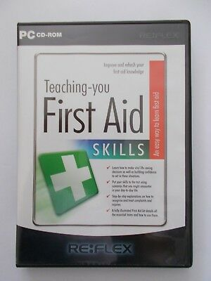 - Teaching You First Aid Skills [Pc Cd-Rom] By Re:flex [Brand New] Oz Seller