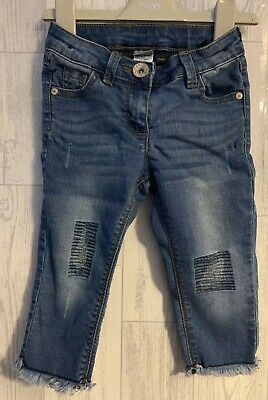 Girls Age 4 (3-4 Years) Next 2018 Cropped Jeans
