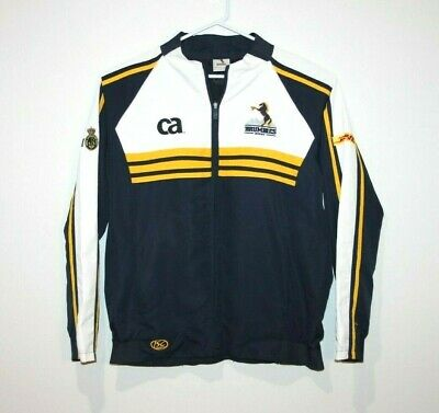 Brumbies Rugby ISC Full Zip Team Jacket Size Men's Large