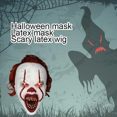 2019 pour Stephen King Ce masque d'Halloween Cosplay Horreur Effrayant Latex