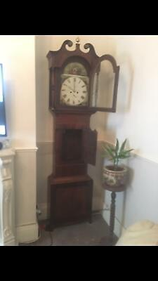 Beautiful  1816  Longcase Clock, by Jacques Wakefield - Professionally Serviced.