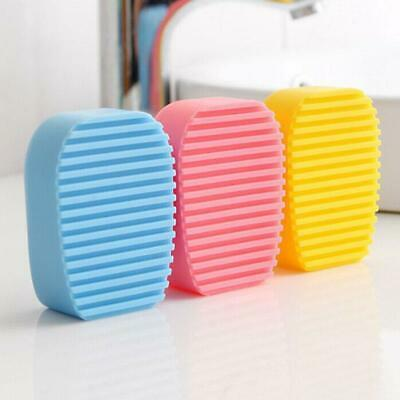 Silicone Laundry Wash Board Mini Candy Scrubbing Brush Handheld Cleaning Tool