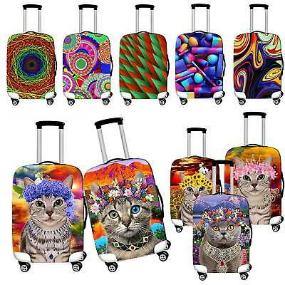 Travel Luggage Cover Protector Elastic Suitcase Dust-Proof  Anti Scratch 18~28''