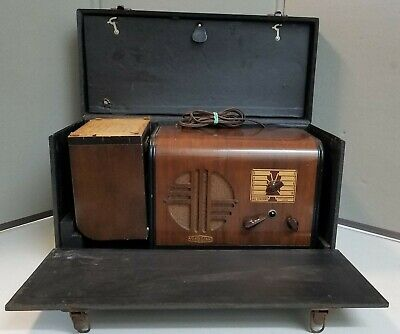"""1940's  """" FLASH A CALL  """" INTER COMMUNICATION SYSTEM  With Original Carry Case"""