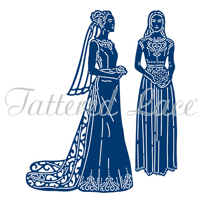 New Tattered Lace Bride and Bridesmaid Cutting Dies 460368