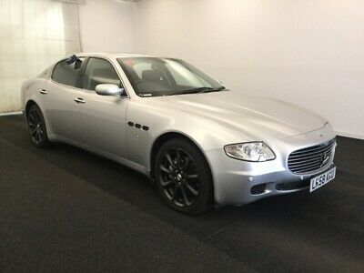 2009 Maserati Quattroporte 4.2 V8 - 80K Miles, Satnav, Leather, Alloys
