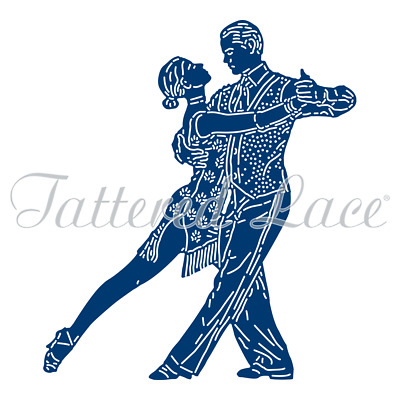 New Tattered Lace Tango Dance Cutting Die 458447