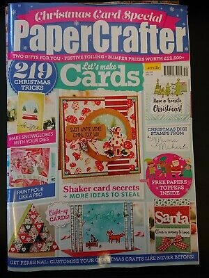 Papercrafter Magazine Issue 139 With Free Gifts