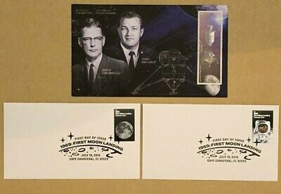 Canada & USA Apollo 11 Official First Day Cover FDC Rare Find * Free Shipping *