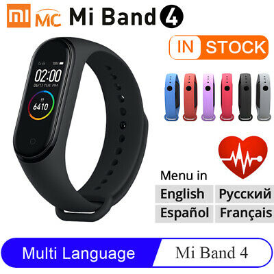 Xiaomi Mi Band 4 NFC Smart Wristband Bracelet Watch OLED Touch Screen Waterproof