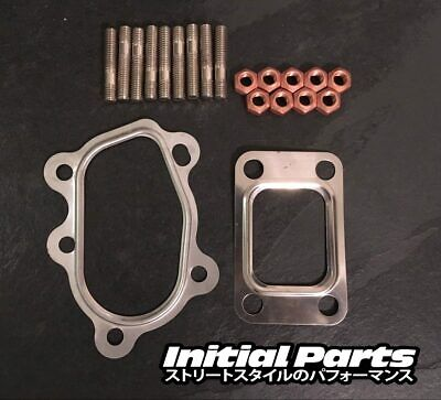 Fitting Kit For Garrett T25 T28 Turbo M8 Studs Copper Nuts Steel Gaskets GT28