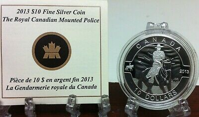 2013 Canada $10 Pure Silver Coin The Royal Canadian Mounted Police  Rcmp