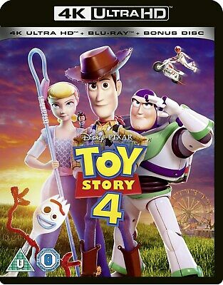 Toy Story 4 (4K Ultra HD + Blu-ray) [UHD] RELEASED 21/10/2019