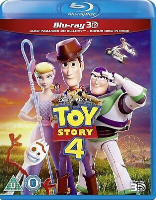 Toy Story 4 (3D Edition with 2D Edition) [Blu-ray] RELEASED 21/10/2019