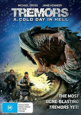 Tremors A Cold Day in Hell 2018 DVD Region 4 NEW Sealed Free Shipping AU