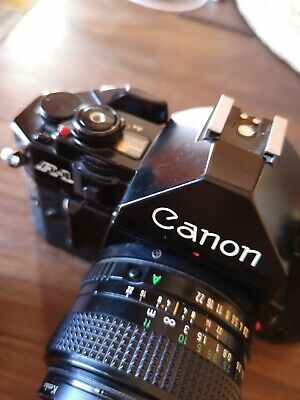Canon A-1 with Canon FD 50/1.4 + 28/2.8 In excellent condition, like new!!!