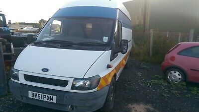 Ford transit jumbo tyre/workshop van