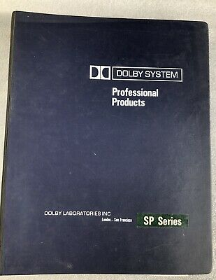 Dolby System SP series technical manual