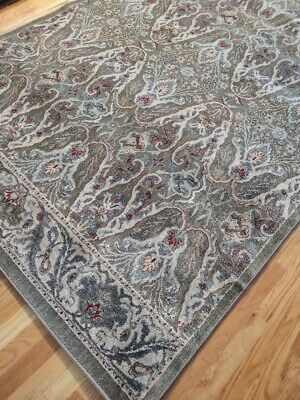 Round William Morris Style Arts /& Crafts Area Rug **FREE SHIPPING**