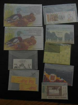 WORLDWIDE : Collection of 210 Complete Booklets. Many interesting. All VF MNH