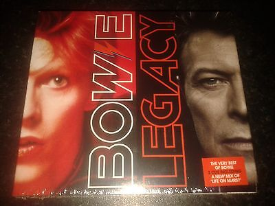 DAVID BOWIE 'LEGACY' (The Very Best of) 2 CD DELUXE EDITION NEW AND SEALED