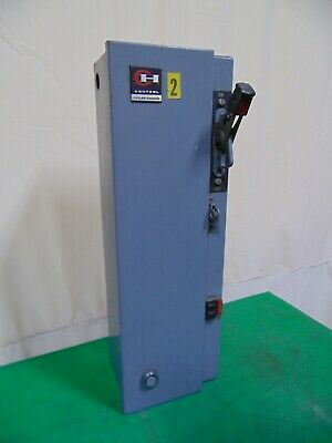 Cutler Hammer A-C Magnetic Combination Starter Enclosure With Size 0 A10BN0