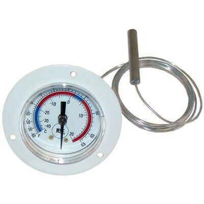 "2"" Front Flange Dial Thermometer with 72"" Capillary"