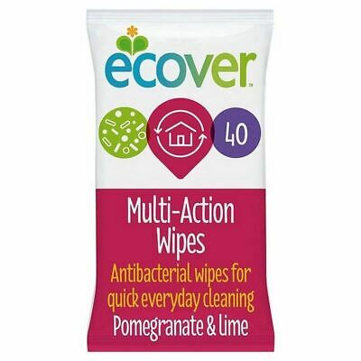Ecover Multi Action Wipes 40 per pack