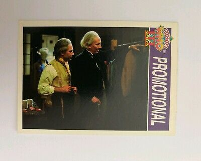 Rare Doctor Who Promotional Card
