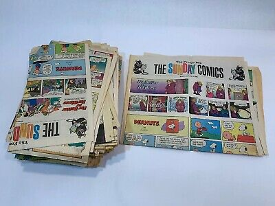 Lot of The Fresno Bee Newspaper Sunday Comics Random issues from 1992 to 1996