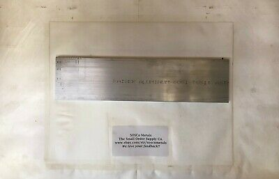 "2 Pieces 3/8"" X 3"" ALUMINUM 6061 FLAT BAR 12"" long T6511 .375"" Plate Mill Stock"