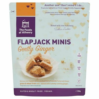Foods of Athenry Gluten Free Just Oats Flapjack Mini Bites 150g
