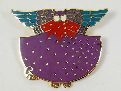 "NWT Vintage 1990 Laurel Burch Signed ""Angelcat"" Pin, Perfect Condition/on Card"