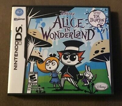 Disney Alice In Wonderland Nintendo DS ~ Complete! ~ Fast Shipping! ~ LQQK