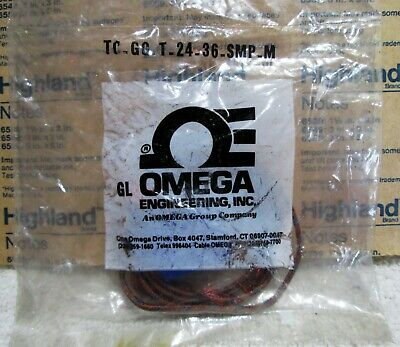 New Omega Type~T Temperature Sensor Thermocouple 32>400 Deg Tc.gg.t.24.26.Smp.m