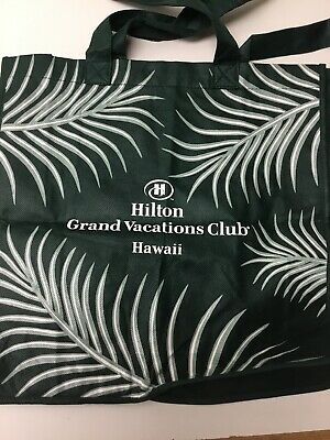 Hilton Grand Vacation Club Hawaii Reusable Grocery Bag. New Without Tags