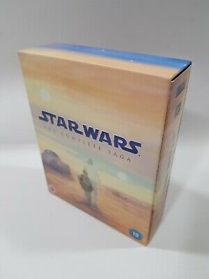 Star Wars - The Complete Saga (Blu-ray, 2011, 9-Disc Set, Box Set) - VGC