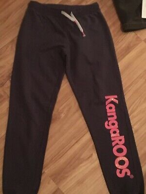 Girls Kangaroo Jogging Pants Age 12-13 Yrs
