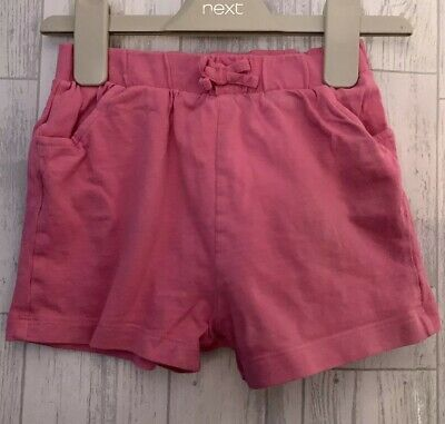 Girls Age 2-3 Years - Pink Shorts